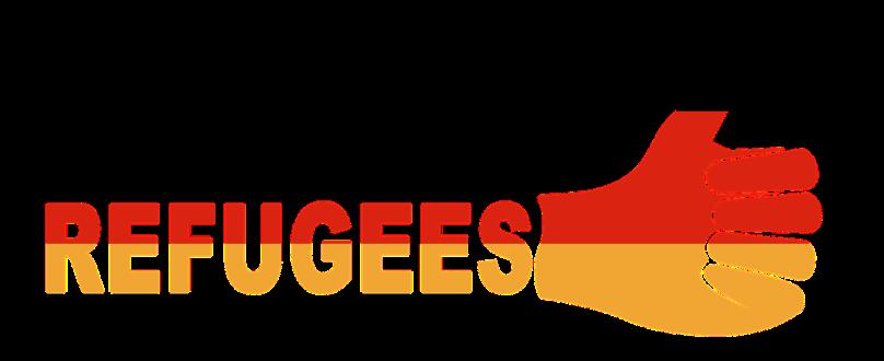 Refugees Daumen hoch
